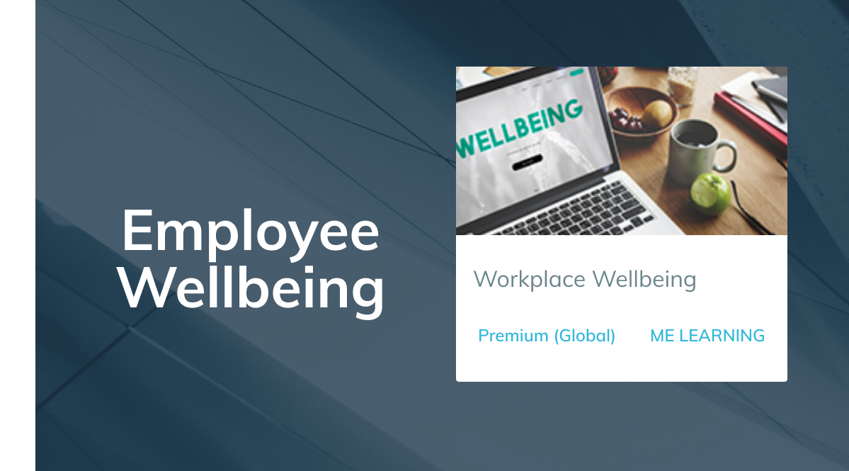 Course of the Week: Workplace Wellbeing