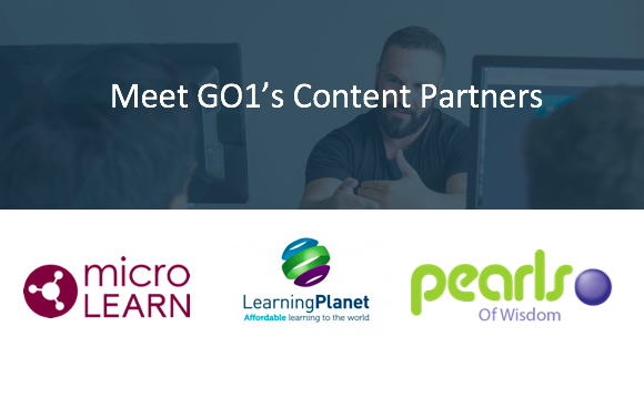 Meet GO1's Content Partners: Microlearn, Learning Planet, and Pearls of Wisdom