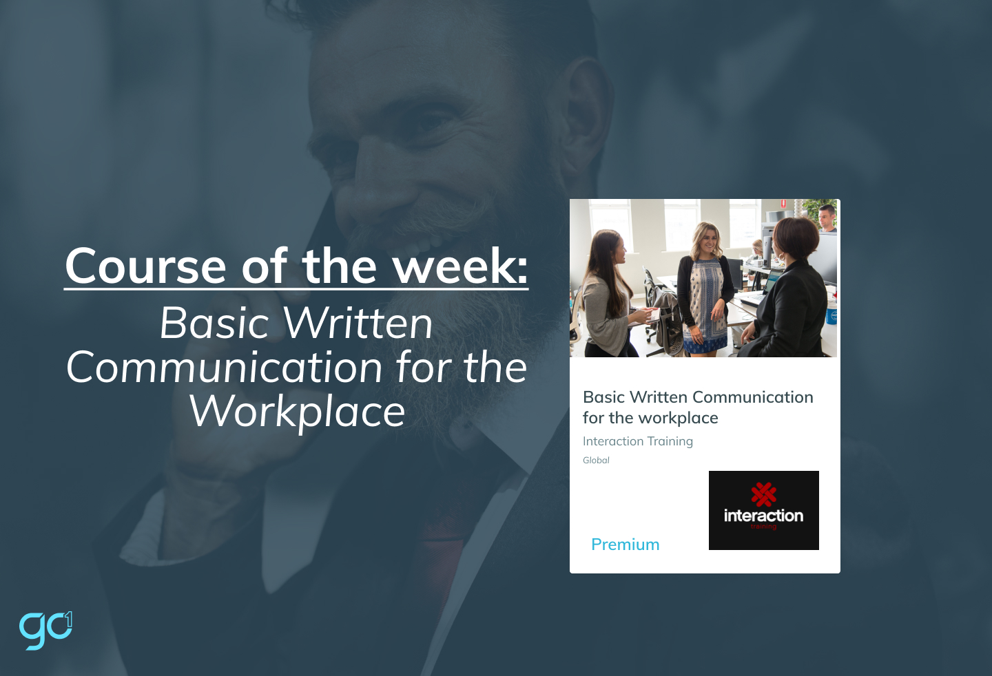Course of the week: Basic Written Communication for the workplace